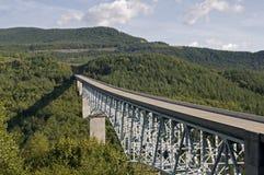 桥梁汽车长的国家公园 库存图片