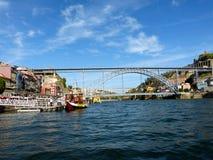 桥梁波尔图4 库存图片