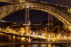 桥梁波尔图 库存图片