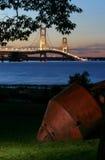 桥梁浮体 库存图片