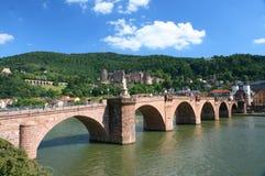 桥梁海得尔堡 免版税库存图片