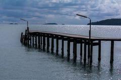 桥梁海运 库存图片