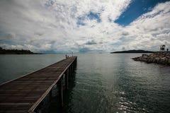 桥梁海运 库存照片