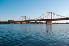 桥梁清早 免版税库存照片