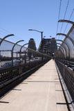 桥梁港口悉尼走道 免版税图库摄影