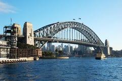 桥梁港口悉尼 免版税图库摄影