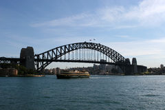 桥梁港口悉尼 免版税库存图片