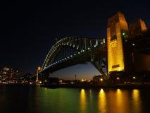 桥梁港口 免版税库存照片