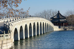 桥梁漏洞十七 免版税库存图片
