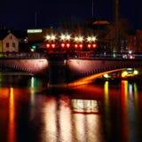 桥梁瑞典 库存照片