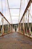 桥梁生锈的暂挂维多利亚女王时代的著名人物 图库摄影