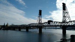 桥梁电梯 免版税库存照片
