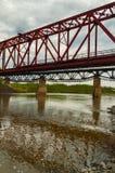 桥梁的反射 免版税库存图片