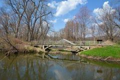 桥梁的反映 图库摄影