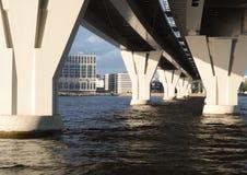 桥梁的支持 免版税图库摄影