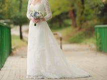 桥梁的新娘 免版税库存照片