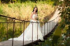 桥梁的新娘 免版税库存图片