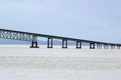 桥梁的段在Astoria,俄勒冈的 免版税库存照片