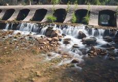 桥梁的福特瓜达尔基维尔河 免版税库存图片