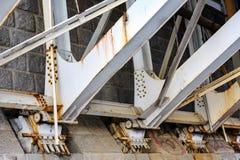 桥梁支持轴承 免版税图库摄影