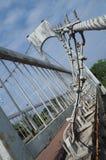 桥梁的结构 库存照片