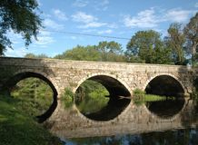 桥梁石头 免版税库存照片