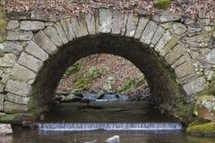桥梁石头 库存照片
