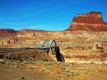 桥梁科罗拉多河 库存图片