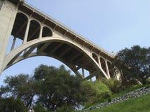 桥梁科罗拉多街道 免版税图库摄影