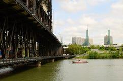 桥梁窃取 免版税图库摄影