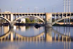 桥梁米尼亚波尼斯 库存照片