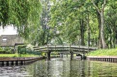 桥梁系列在羊角村 库存图片