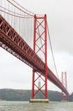 桥梁红色 免版税库存照片