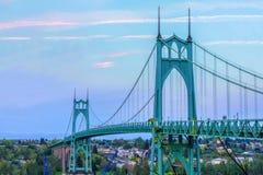 桥梁约翰・俄勒冈波特兰s st美国 图库摄影