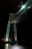 桥梁纽波特运输者 免版税库存图片