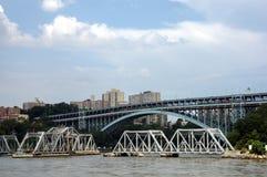 桥梁纽约 免版税图库摄影