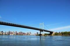 桥梁纽约 库存照片