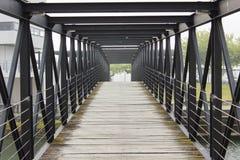 桥梁结构 免版税库存照片