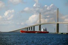 桥梁结算 免版税库存照片