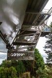 桥梁维护平台 免版税图库摄影
