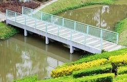 桥梁绿色老 库存照片