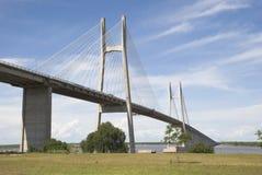 桥梁罗萨里奥维多利亚 免版税图库摄影