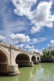 桥梁罗马 图库摄影