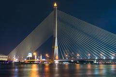 桥梁美丽的景色  库存照片