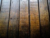 桥梁老木头 免版税图库摄影