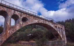 桥梁老石头 免版税库存图片