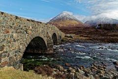 桥梁老石头 库存照片