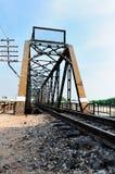 桥梁老铁路 图库摄影