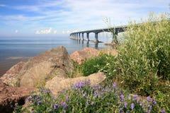 桥梁联邦pei 库存图片