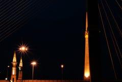桥梁脖子 库存图片